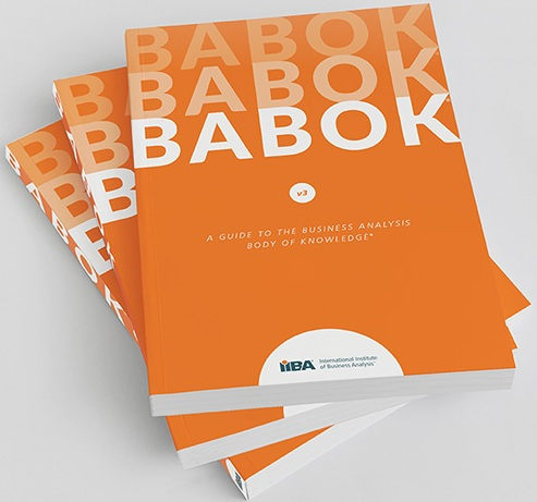 In our public classes for the IIBA certifications the Babok Guide is free!